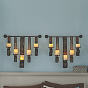 6-Piece Hanging Sconces