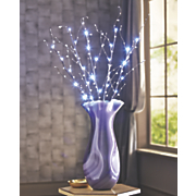 fleur large glass vase