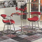 3-Piece Arm Chair Bistro Set