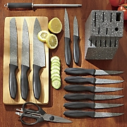 14 pc  speckled cutlery set
