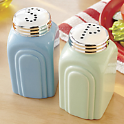 Retro Salt & Pepper Shakers