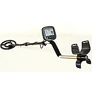 alpha metal detector with carry bag