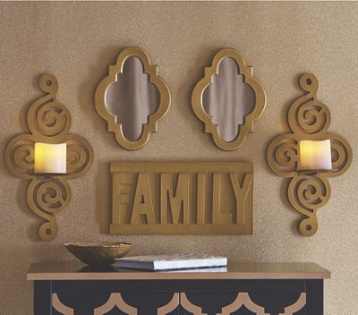 Set of 5 Family Wall Décor