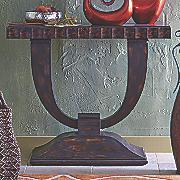 Morgan Slab Console Table