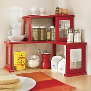 2-Tier Corner Shelf