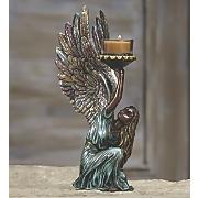 angelic candleholder