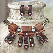 Sedona Sunset Necklace and Earring Set