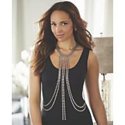 Metal-Beaded Necklace/Body Jewelry