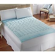 cool gel memory foam mattress enhancer