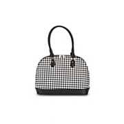 houndstooth dome bag