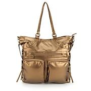 2 pocket metallic bag
