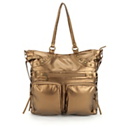 2 pocket metallic bag