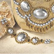 2 tone oval bracelet