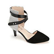Strap Collar Pump by Midnight Velvet
