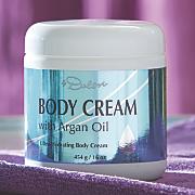 argan oil body cream