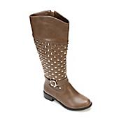 Studded Quilt Boot by Midnight Velvet