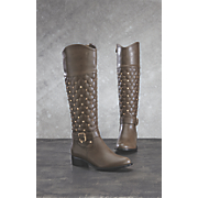 Studded Quilt Boot by Midnight Velvet