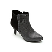 Sparkle-Front Bootie by Midnight Velvet
