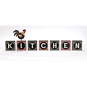 Rooster Kitchen Block Set