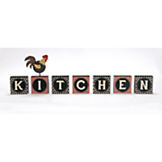 rooster kitchen block set