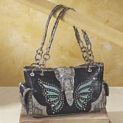 butterfly stud bag