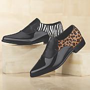 sleek animal loafer by midnight velvet