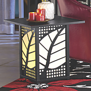 lighted table 196