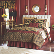 madeline comforter set  pillow and window treatments