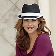 Hat with White Trim