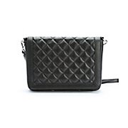 Quilted Leather Flap Bag