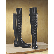 Quilt Front Boot by Midnight Velvet