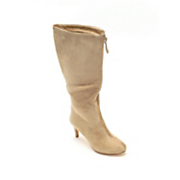 Zip Front Tall Boot by Midnight Velvet
