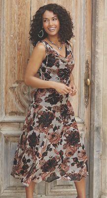Autumn Rose Dress