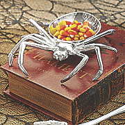 spider candy dish