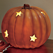 light up pumpkin