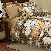 Wild Rose Comforter Set and Accessories