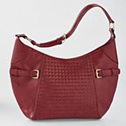 faith woven shoulder bag