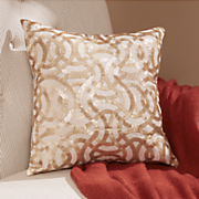 promenade beaded pillow