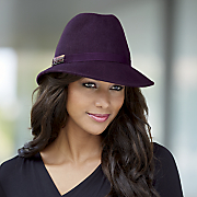 Mixed Jeweled Fedora