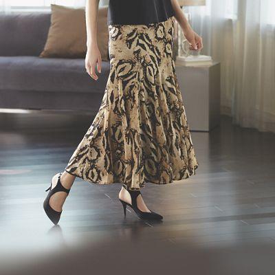 Animal-Print Skirt