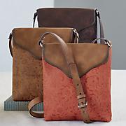 embossed side bag