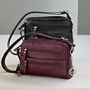 camera style leather bag