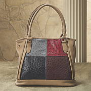 center patch tote