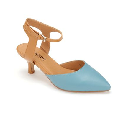Color Block Ankle Strap by Monroe & Main