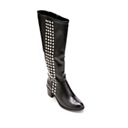 Studded Strip Boot by Midnight Velvet