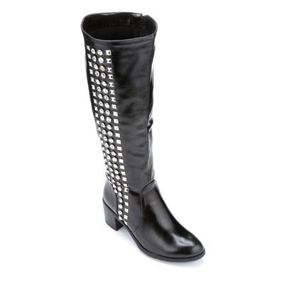 Studded Strip Boot by Midnight Velvet
