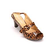Patent Leopard Slingback by Classique
