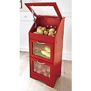 veggie bin with glass door