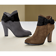 Sixty-Sixth Bow Bootie by Andiamo