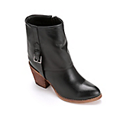 fold over side buckle bootie by monroe and main